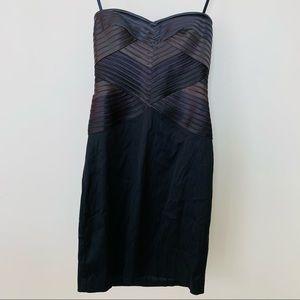 BCBGMaxAzria Bodycon Strapless Cocktail Dress 0